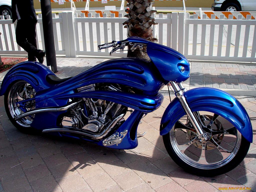 картинки мотоцикл синего цвета